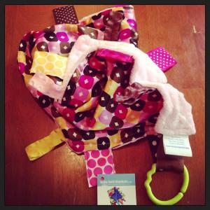 Baby Jack Blankets Satin Lovey