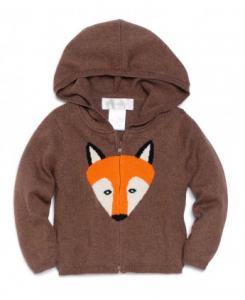 Fawn Shoppe Lucky Jade fox hoodie