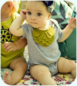 Hudson & Ruthie baby girl bodysuit