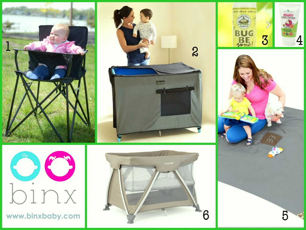 Product for camping with a baby | BINX