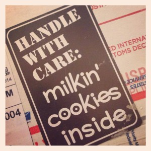 Milkin' Cookies package