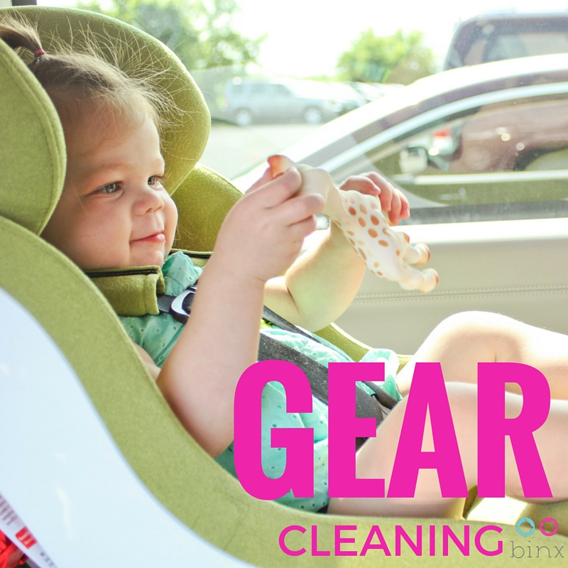 Stroller and Car seat cleaning